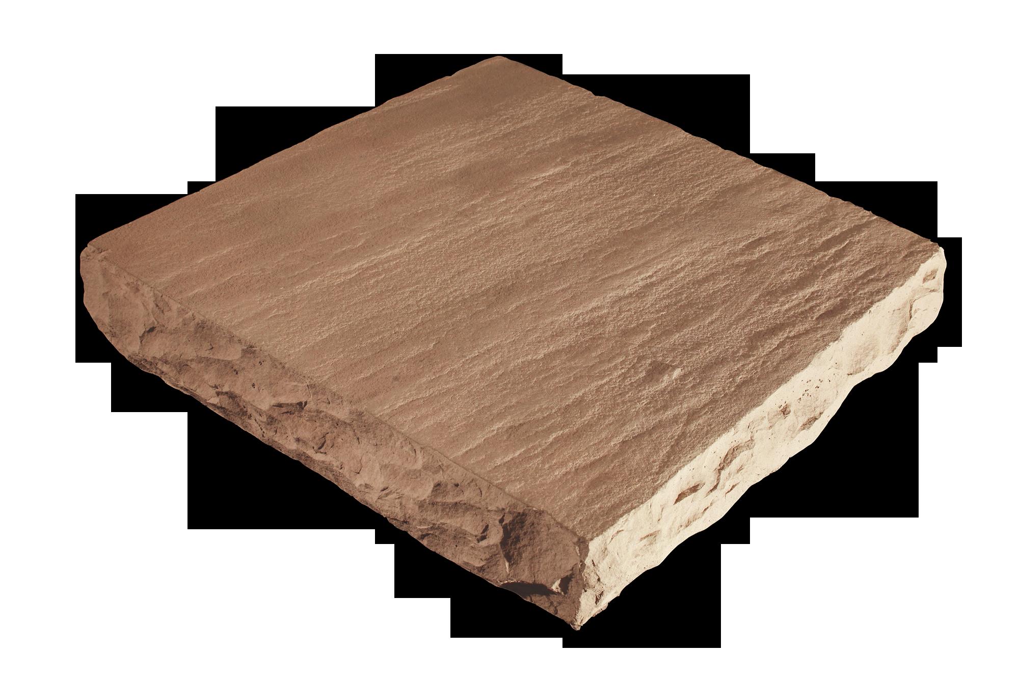 Flat Column Cap Amber 24x24x4