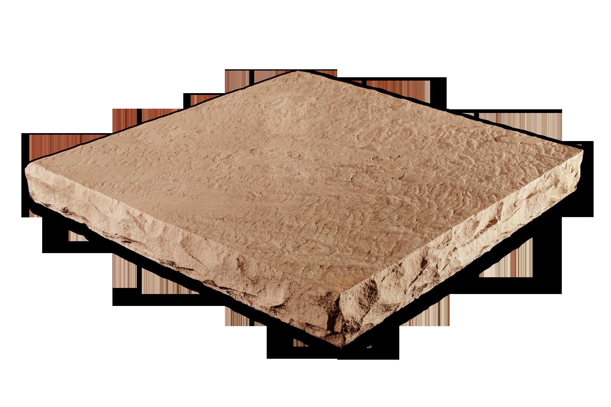Flat Column Cap Amber 32x32x4