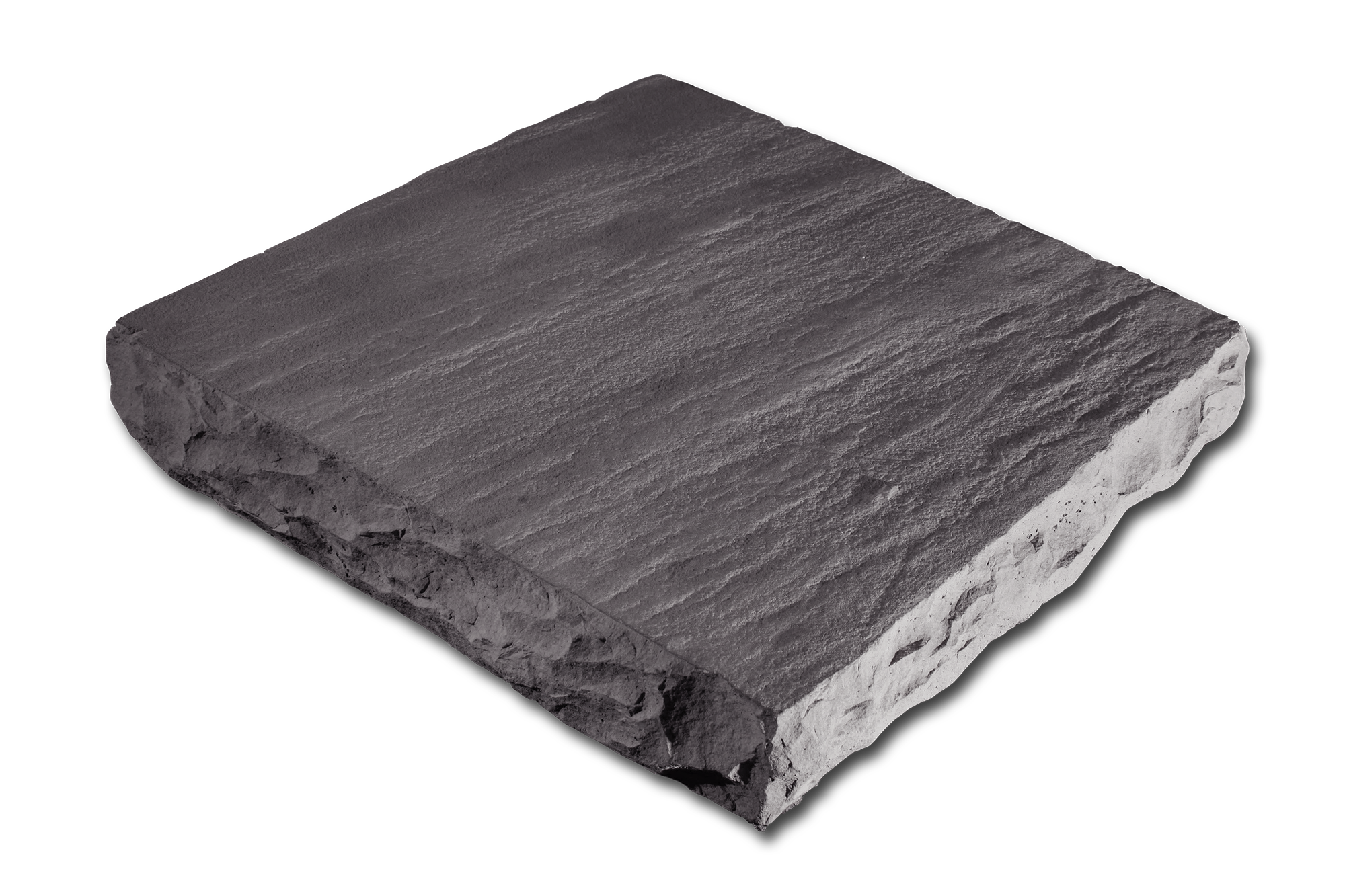 Flat Column Cap Gray 24x24x4