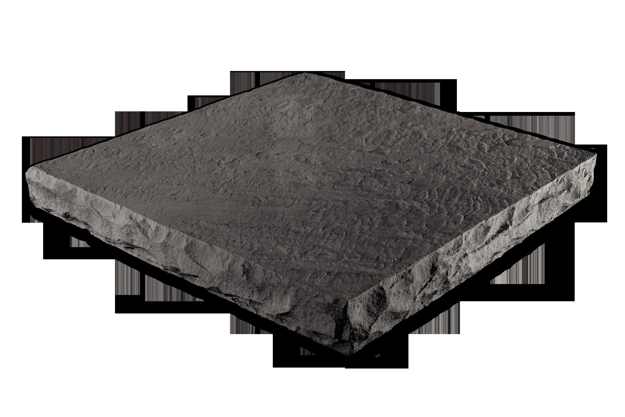 Flat Column Cap Gray 32x32x4