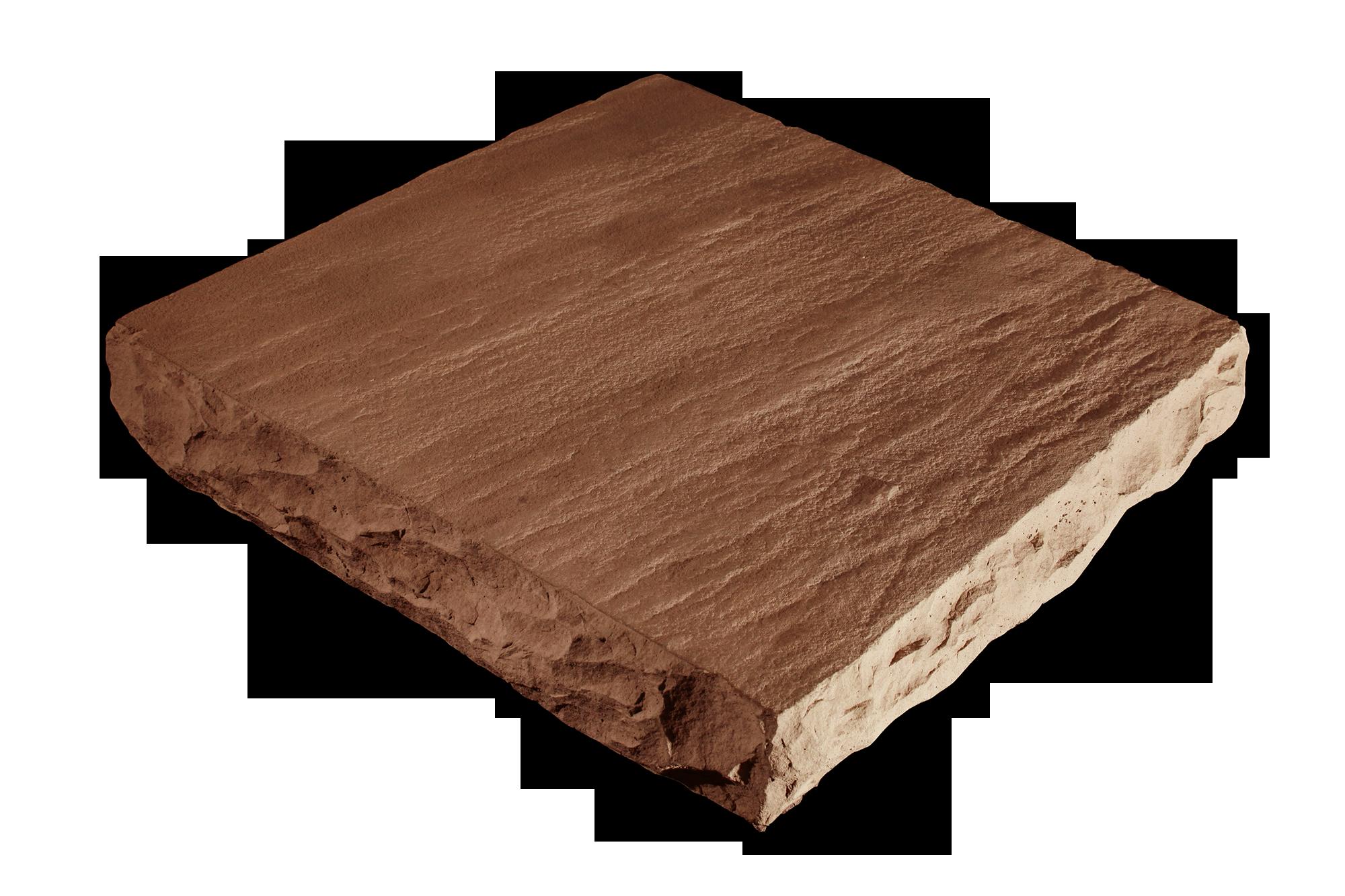 Flat Column Cap Hazelnut 24x24x4
