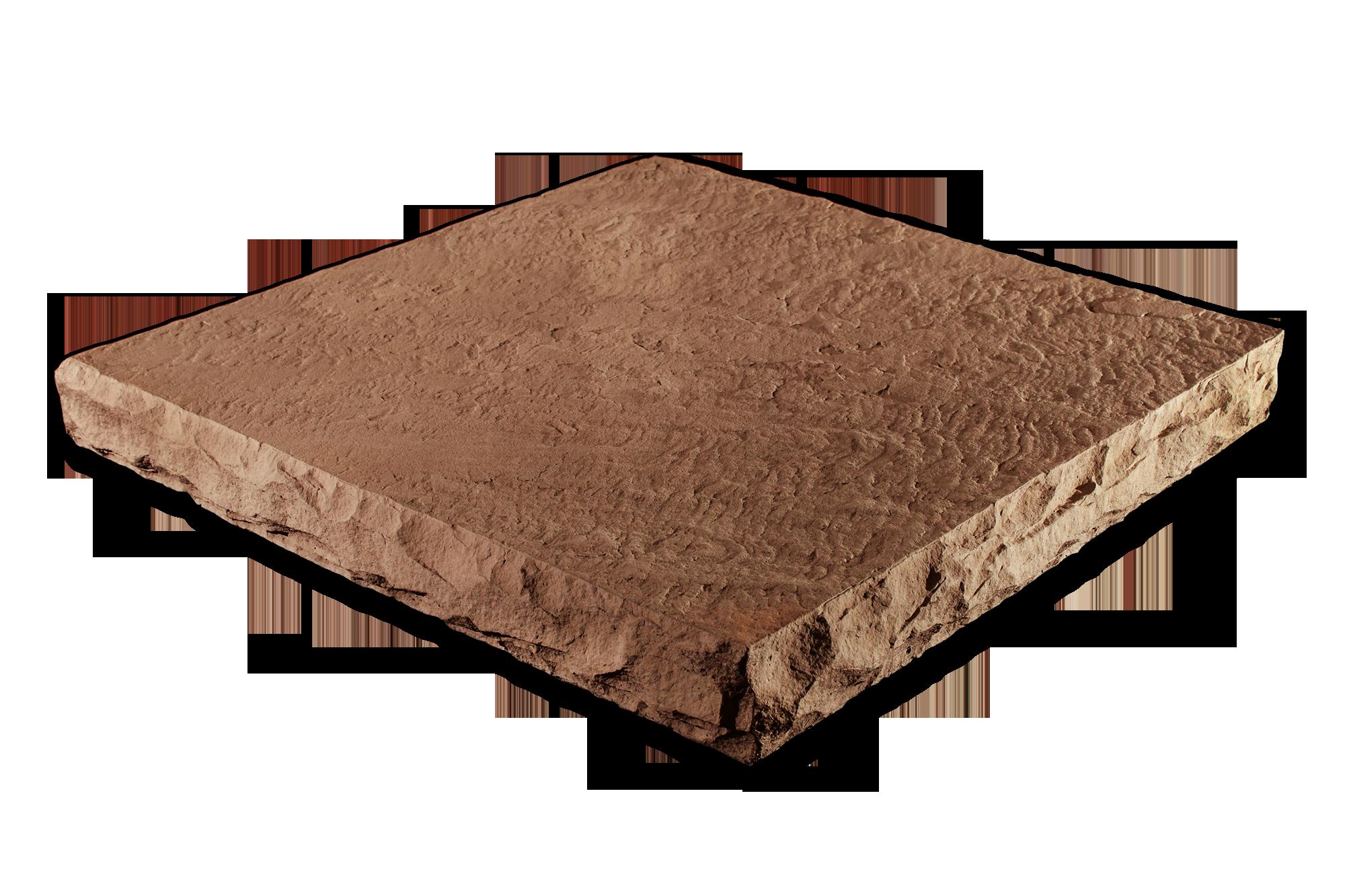 Flat Column Cap Hazelnut 32x32x4