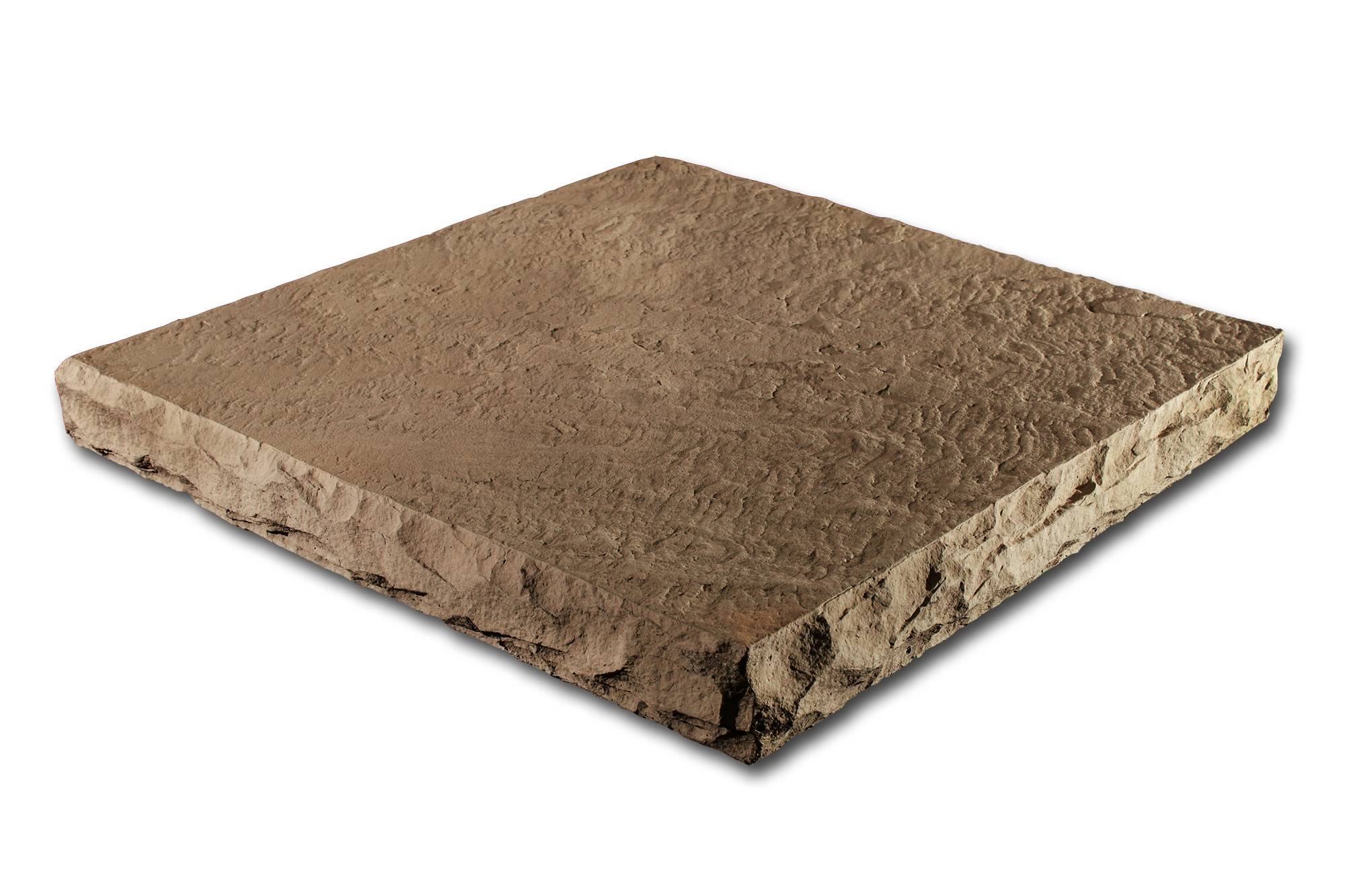 Flat Column Cap Taupe32x32x4