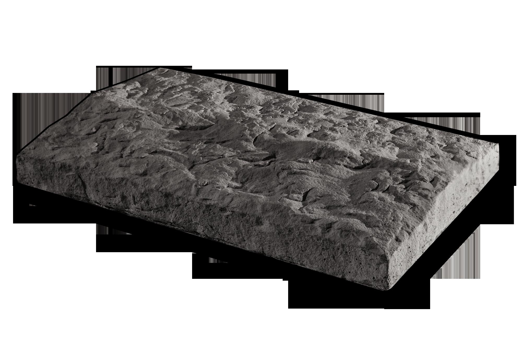 Peaked Wallcap Gray 12×20