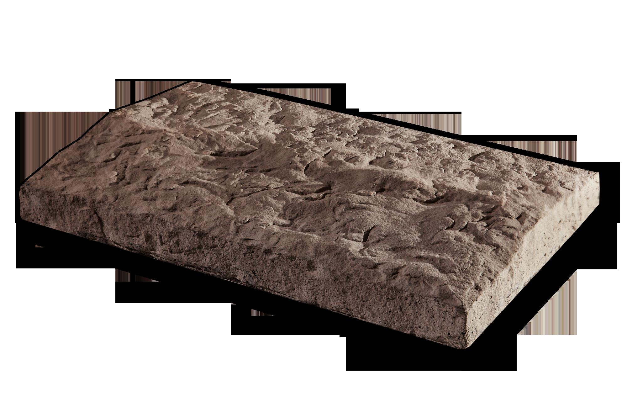 Peaked Wallcap Taupe 12×20