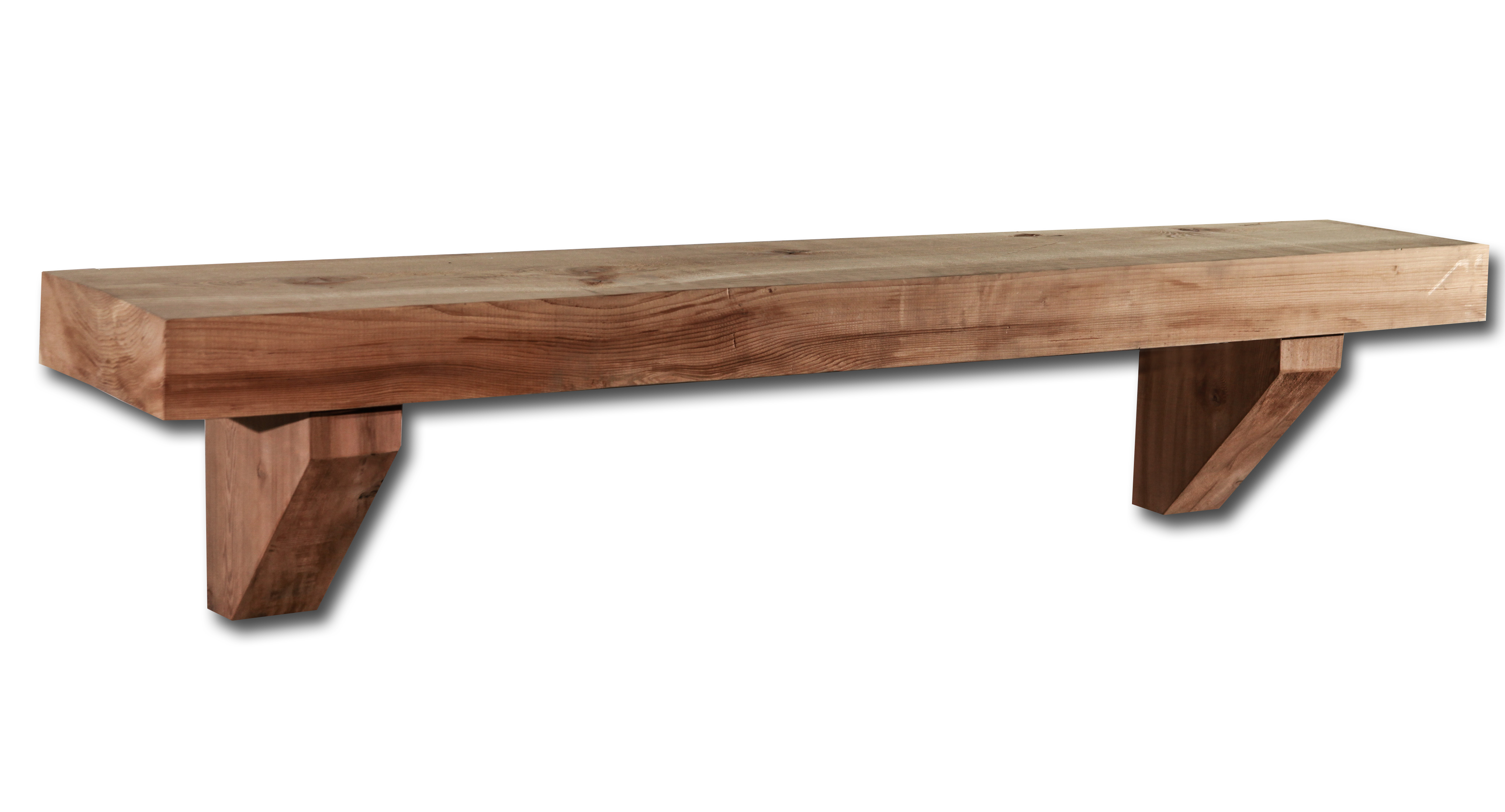 Unfinished Cedar Mantel